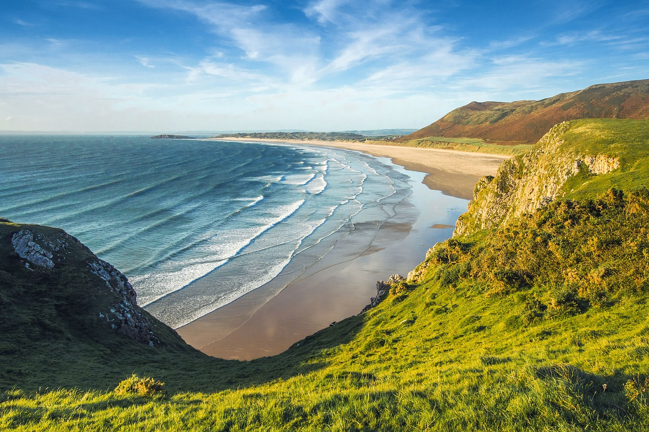 places to visit in wales in summer