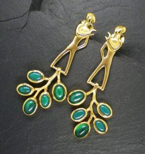 Leaf-Patterned Autumn Jewellery