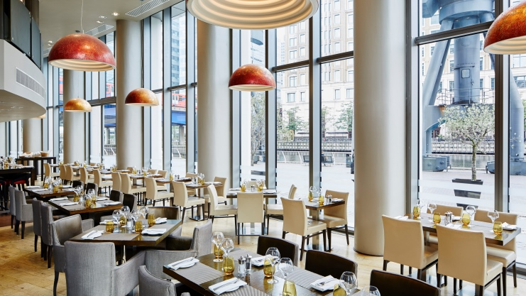 One Canada Square Restaurant - Canary Wharf