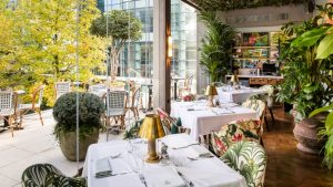 The Ivy in the Park - canary wharf restaurants
