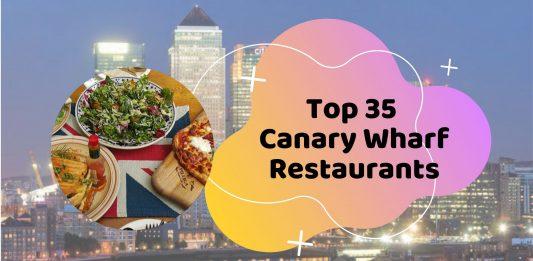 canary wharf restaurants