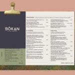 bokan canary wharf menu