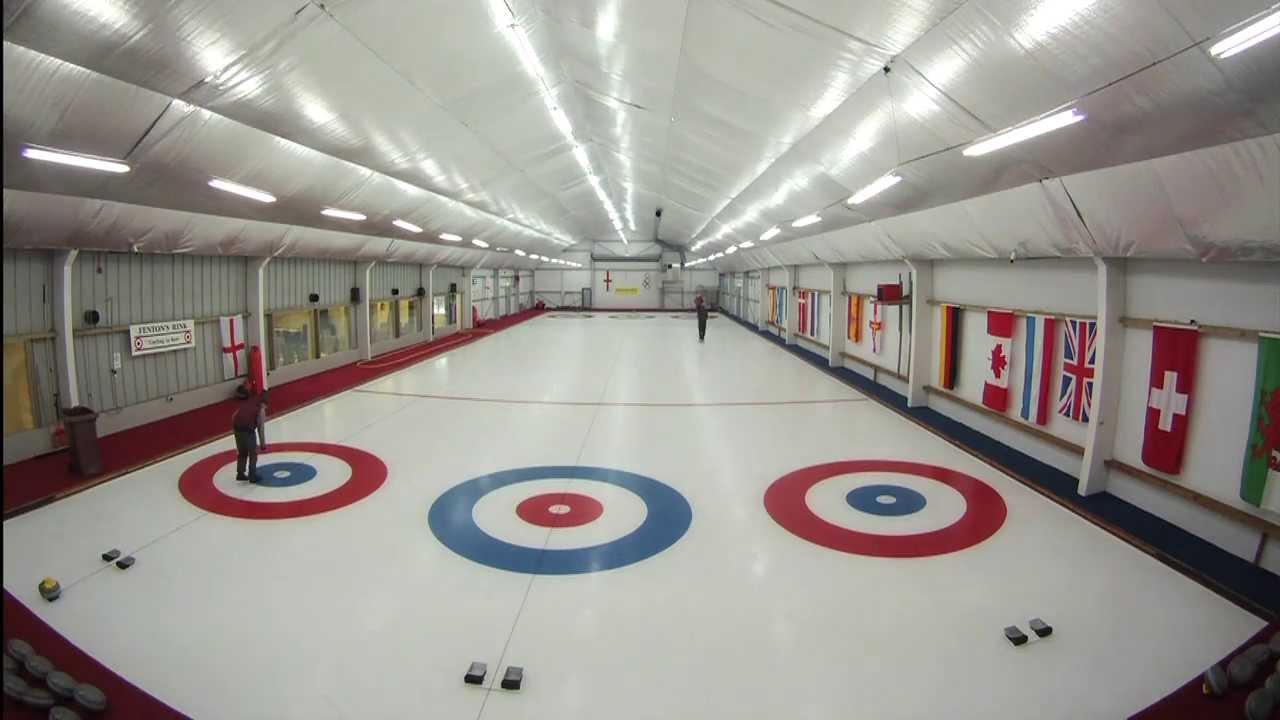 Hampton Court's permanent ice-skating rink