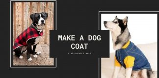 Make a dog Coat