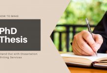 Dissertation Writing Services for Phd