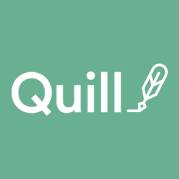 quill interactive writing and grammar