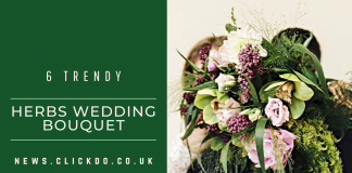 6 trendy Herbs to add to your Wedding Bouquet