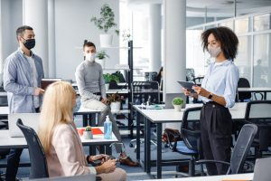 How do co-between Workspaces provide Solutions during a Pandemic