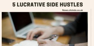 5 Lucrative Side Hustles in 2021