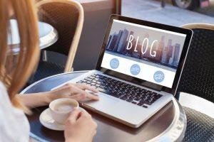 Start a Blog is lucrative side hustles