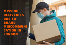 missing deliveries due to brand miscommunication in London