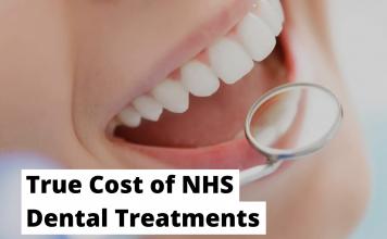 True Cost of NHS Dental Treatments